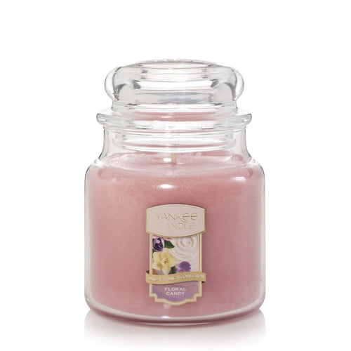 Yankee Classic Jar Candle - Medium - Floral Candy