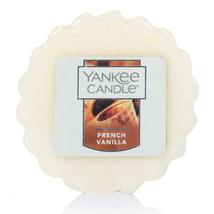 Yankee - Wax Melt Tarts - French Vanilla
