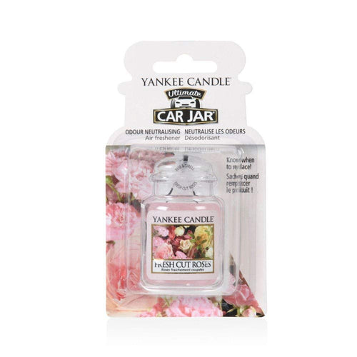 Yankee Car Jar Ultimate - Fresh Cut Roses