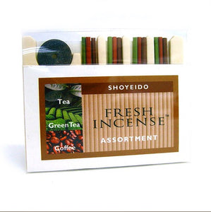 Shoyeido Fresh 12-stick Assortment - Candle Cottage