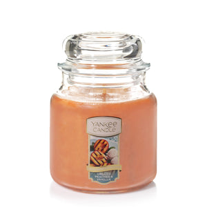 Yankee Classic Jar Candle - Medium - Grilled Peaches & Vanilla