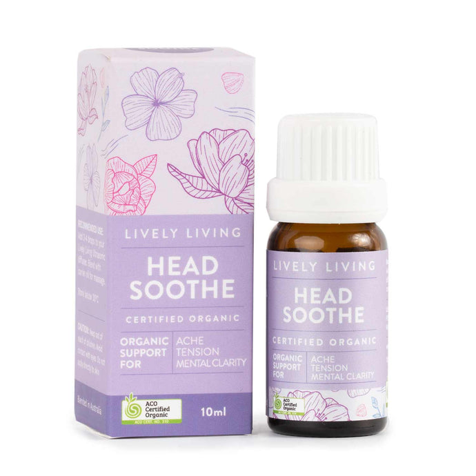 100% Certified Organic Essential Oil - Head Soothe