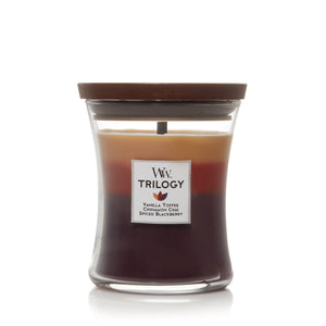 WoodWick Trilogy - Medium - Holiday Cheer
