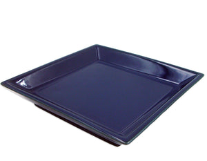 Shoyeido Square Dark Blue Tray