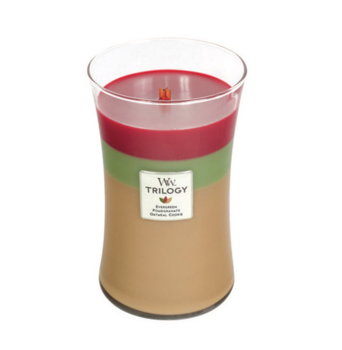 WoodWick Trilogy Christmas Limited Edition - Large - Joyful Gatherings