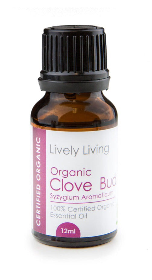100% Certified Organic Essential Oil - Clove Bud