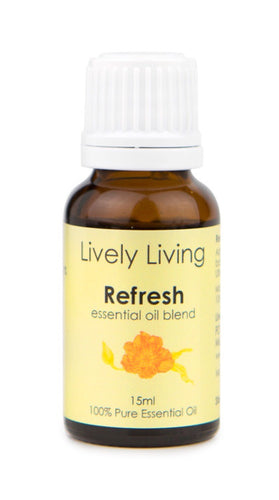 100% Certified Organic Essential Oil - Refresh