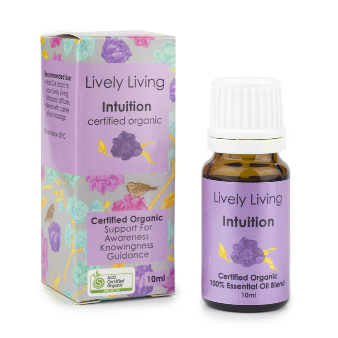 100% Certified Organic Essential Oil - Intuition - Candle Cottage