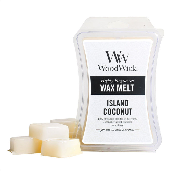 WoodWick Wax Melt - Island Coconut - Candle Cottage