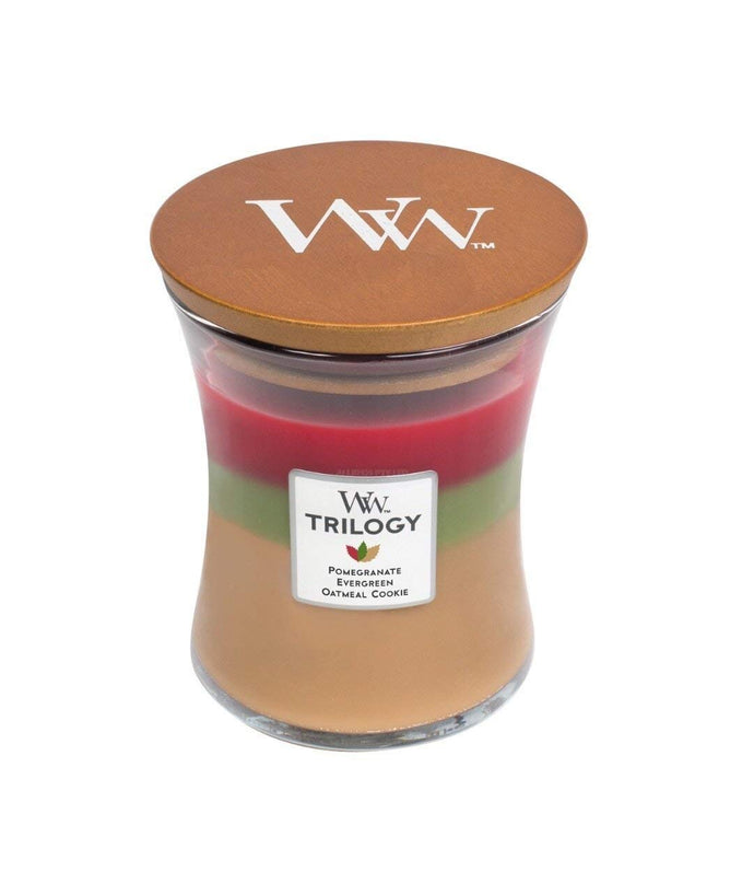 WoodWick Trilogy Christmas Limited Edition - Medium - Joyful Gatherings