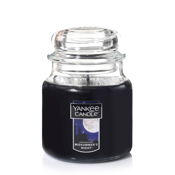 Yankee Classic Jar Candle - Midsummer's Night - Candle Cottage