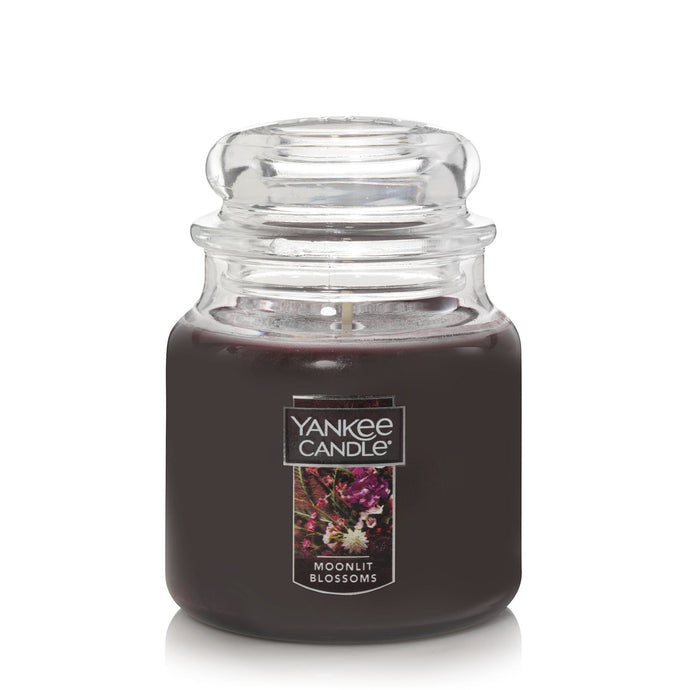 Yankee Classic Jar Candle - Medium - Moonlit Blossoms