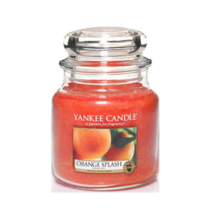 Yankee Classic Jar Candle - Medium - Orange Splash Original Label