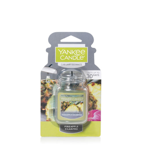 Yankee Car Jar Ultimate - Pineapple Cilantro - Candle Cottage
