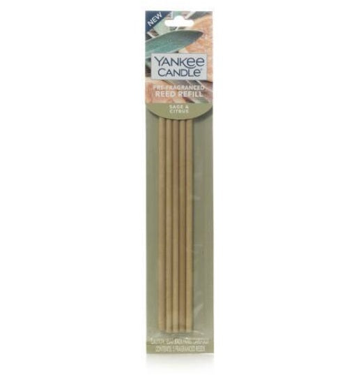 Yankee Candle Pre-Fragranced Reed Refill - Sage & Citrus