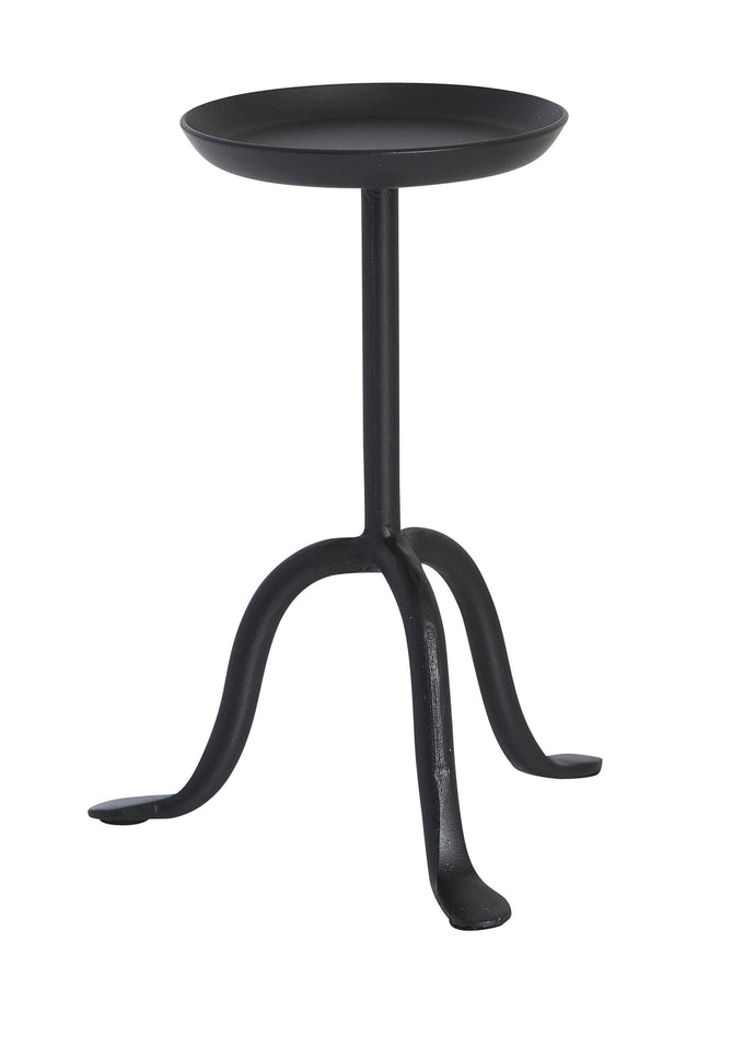 IRON STAND TALL SMALL - BLACK - Candle Cottage