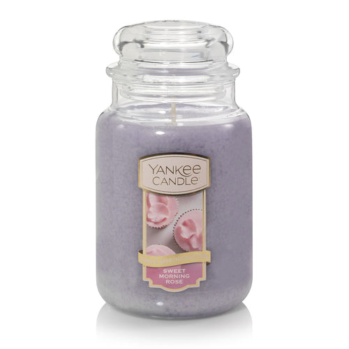 Yankee Classic Jar Candle - Large - Sweet Morning Rose