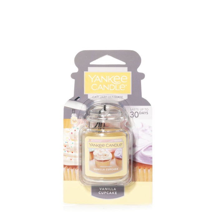 Yankee Car Jar Ultimate - Vanilla Cupcake - Candle Cottage