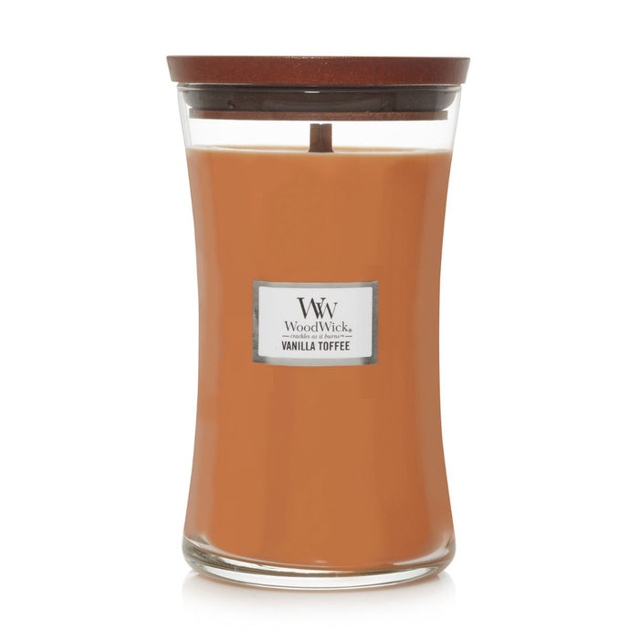 WoodWick - Large - Vanilla Toffee
