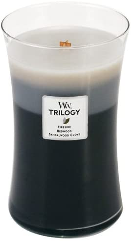 WoodWick Trilogy - Large - Warm Woods
