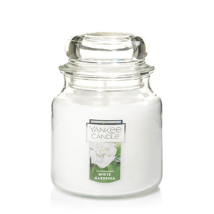 Yankee Classic Jar Candle - Medium - White Gardenia