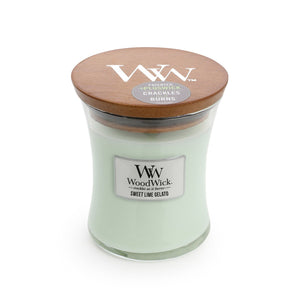 WoodWick - Sweet Lime Gelato - Candle Cottage
