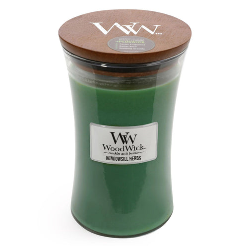 WoodWick - Windowsill Herbs - Candle Cottage