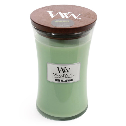 WoodWick - White Willow Moss - Candle Cottage