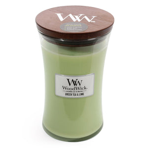 WoodWick - Green Tea & Lime - Candle Cottage