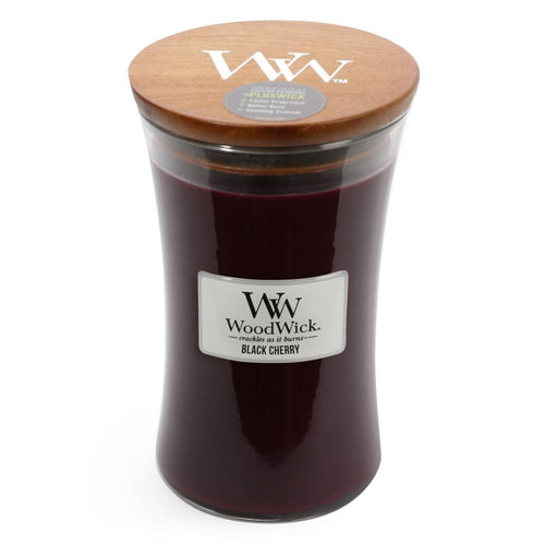 WoodWick - Black Cherry - Candle Cottage