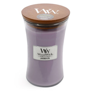 WoodWick - Lavender Spa - Candle Cottage