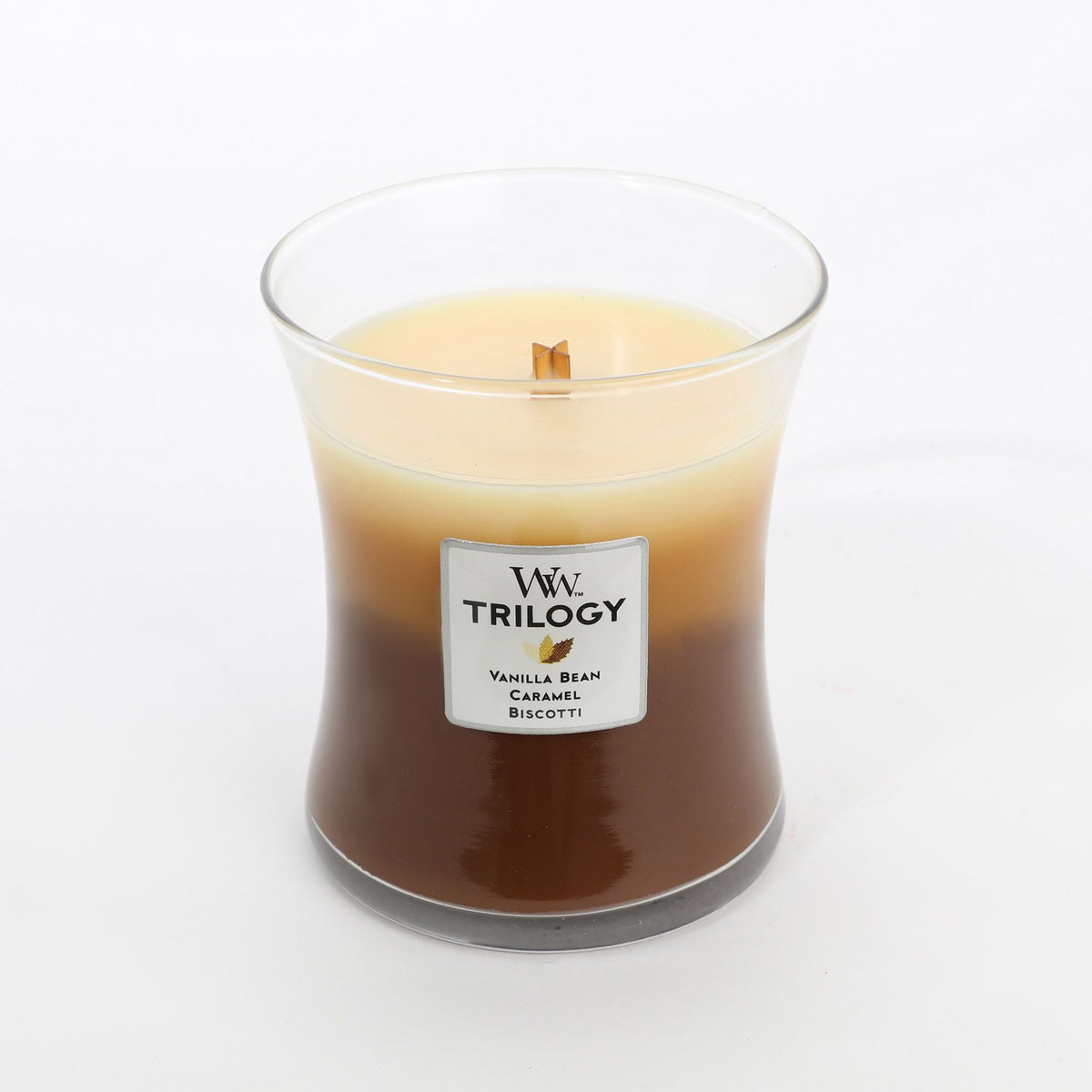 Woodwick Trilogy Large Cafe Sweets Candle Cottage