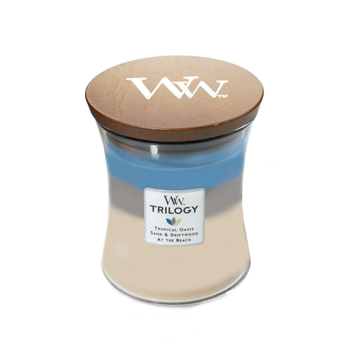 WoodWick Trilogy - Medium - Nautical Escape