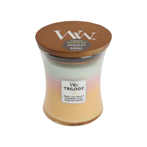 WoodWick Trilogy - Summer Sweets - Candle Cottage