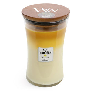 WoodWick Trilogy - Fruits of Summer - Candle Cottage
