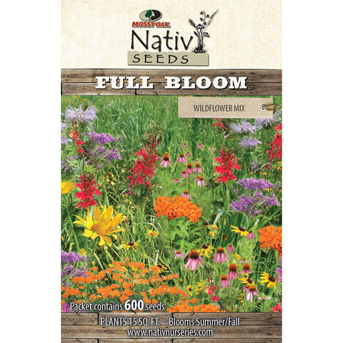 Full Bloom- Wildflower Mix