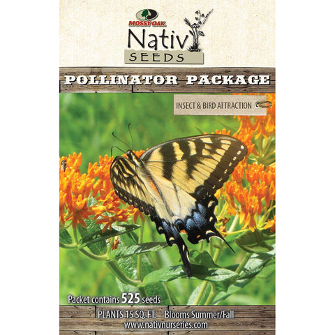 Pollinator Package-Insect & Bird Attraction
