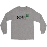 Nativ Nurseries Long Sleeve Men's Cotton T-shirt