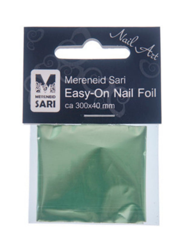 Easy-On Nail Foil- Half-Matte Green