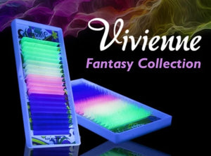 "VIVIENNE FANTASY COLLECTION COLOR MIX ""NEON"" ONE LENGTH 20 LINES D.15"