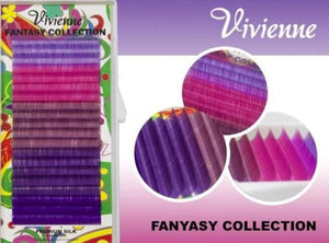 "VIVIENNE FANTASY COLLECTION ""LILAC SYMPHONY"" ONE LENGTH 20LINES TRAY D.10"