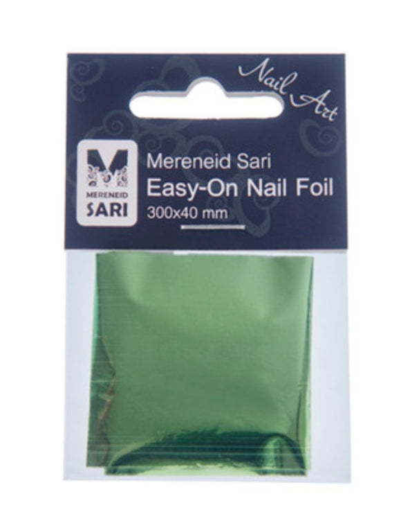 Easy-On Nail Foil - Laser Green