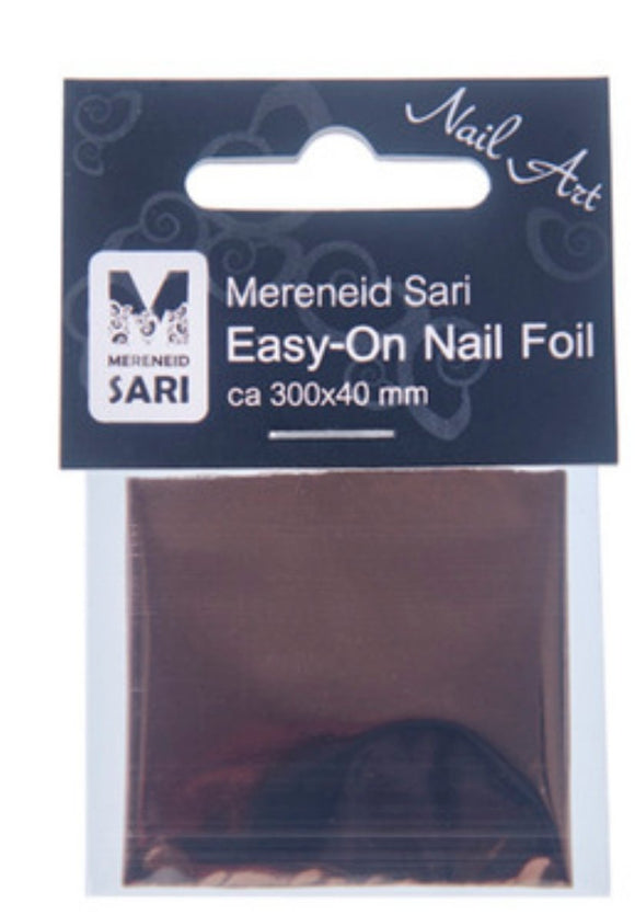 Easy-On Nail Foil - Laser Brown