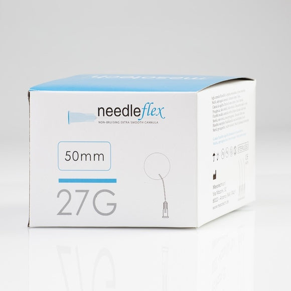 Needleflex, 10 flexible cannula with the blunt tip