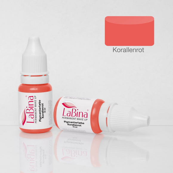 LaBina Pigment PMU CORAL RED W 10ml