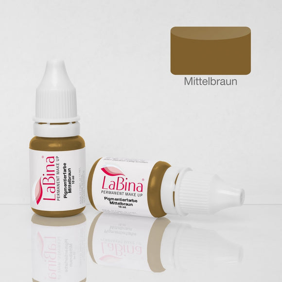 LaBina Pigment PMU MEDIUM BROWN W 10ml
