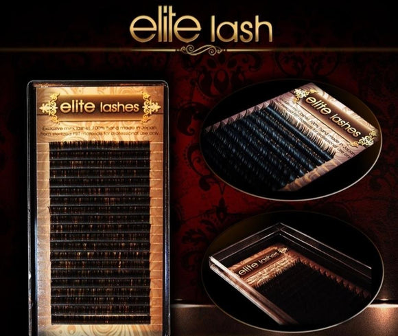 Elite lashes black 0.06 D