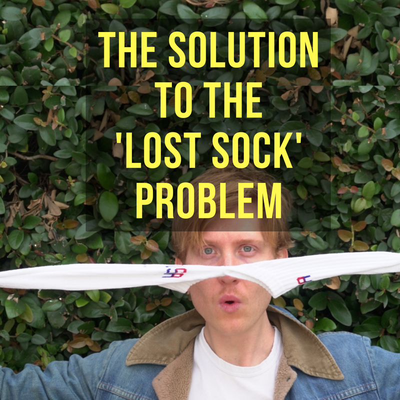 The Solution to the 'Lost Sock' Problem!