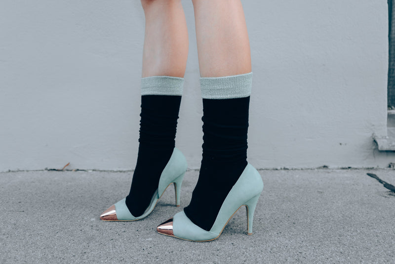 Socks with High Heels...Yay or Nay?