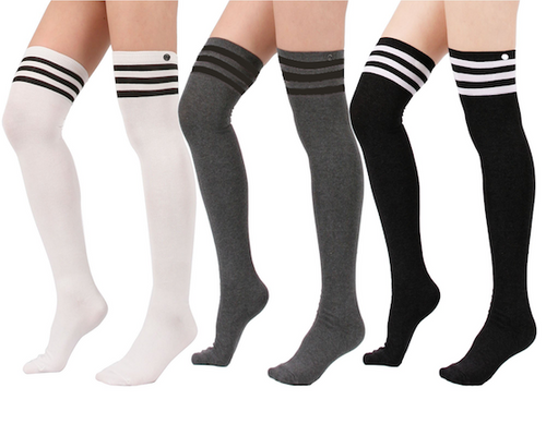 The Thigh High Socks 3-Pack